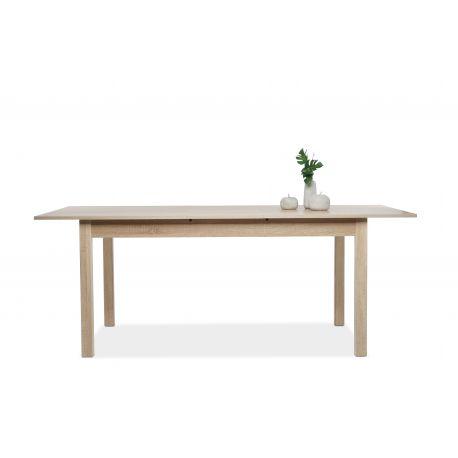table falcon 160 extensible oak sonoma. Black Bedroom Furniture Sets. Home Design Ideas