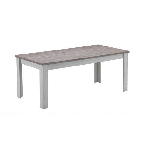 Landelijke tafel olivier in lichte eik top bruin dekor for Volwassen kamer schilderij model