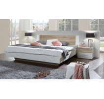 Bed Franziska in alpine wit 160x200