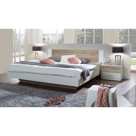 Bed Franziska in alpine wit 160x200