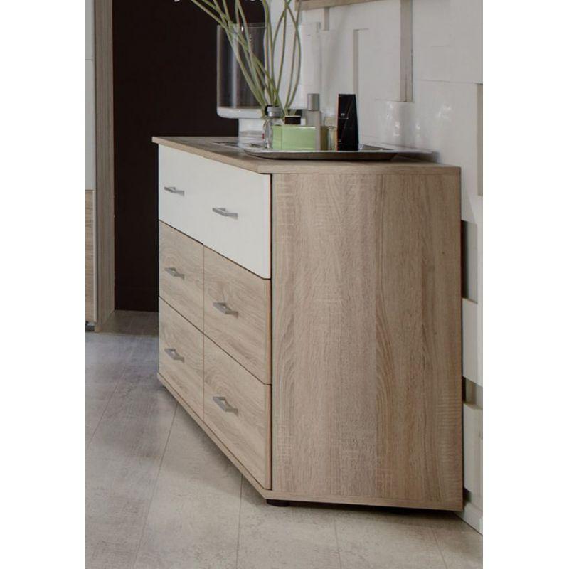commode franziska en imitation ch ne. Black Bedroom Furniture Sets. Home Design Ideas