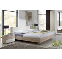 Bed Franziska in imitatie eik 160x200