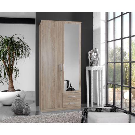 Kleerkast wenen 2 deurs for Volwassen kamer schilderij model