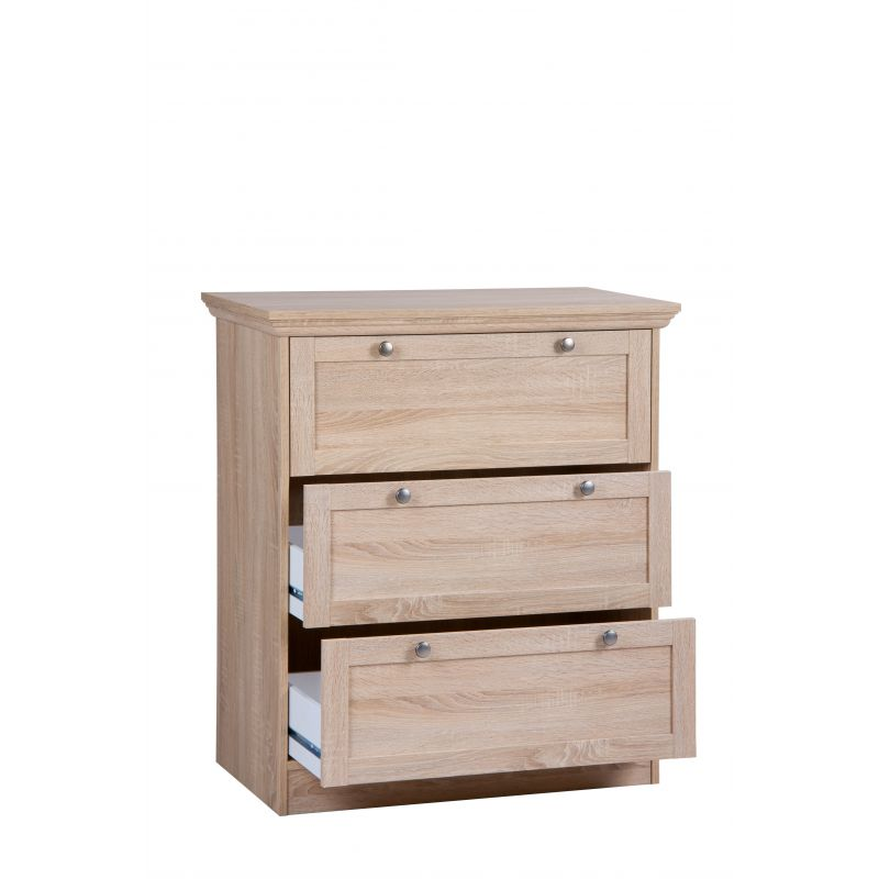 commode armoire fenny chaussures en sonoma. Black Bedroom Furniture Sets. Home Design Ideas