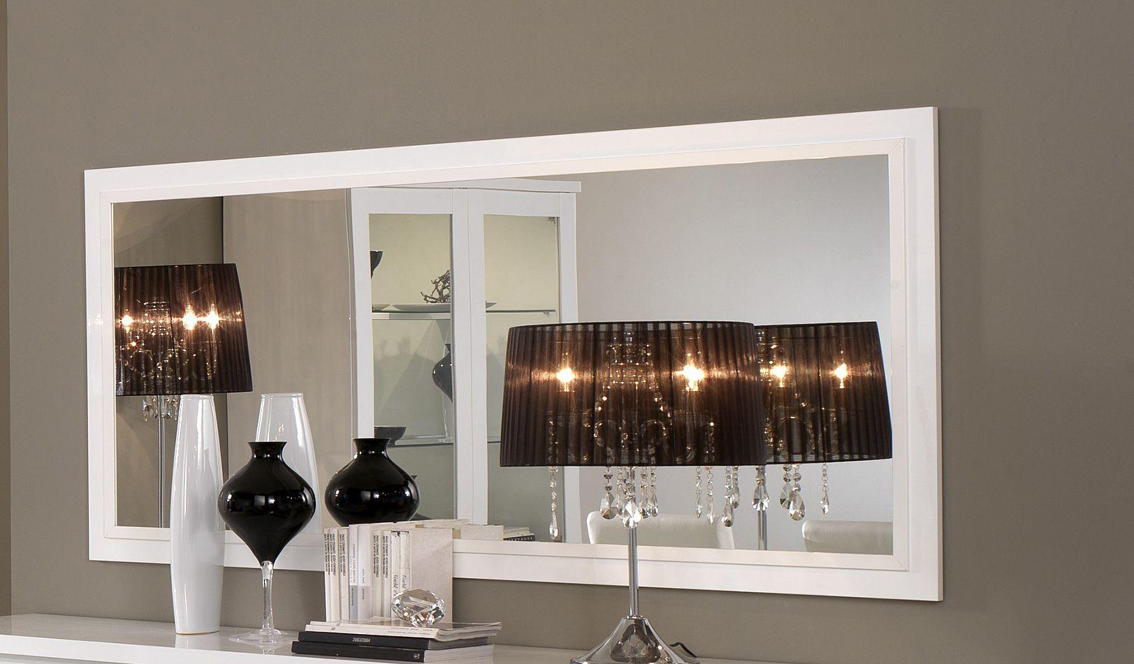 Roma spiegel cm base lak