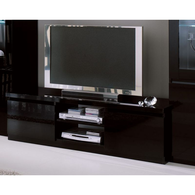 meuble de t l vision roma laque de base. Black Bedroom Furniture Sets. Home Design Ideas
