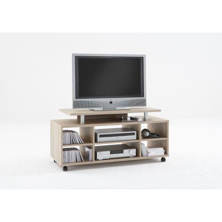 Tv meubel met opzet en handige vakken Fray