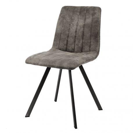 Chaise Confortable En Garniture Vintage