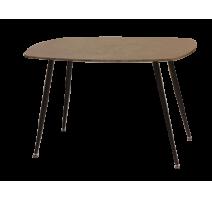 Table OVAL en couleur béton