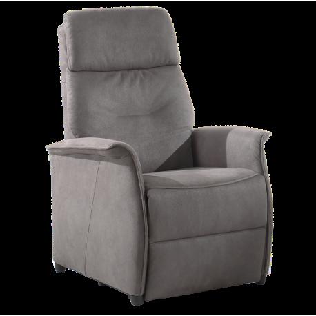 Electrische relax in grijse stof met dubbele motor