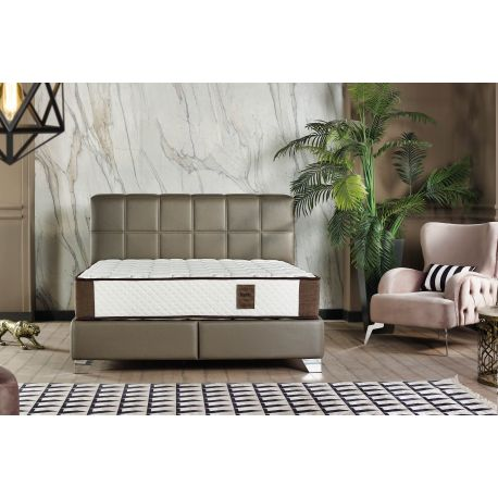 Boxspring Handy in taupe