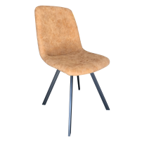 Chaise Contro en couleur amande