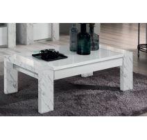 Table basse rectangulaire Vittoria Marmo