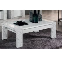 Vittoria marmo rechthoekige salontafel
