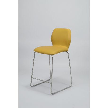 Chaise de bar BUSTER (Buffelo moutarde)